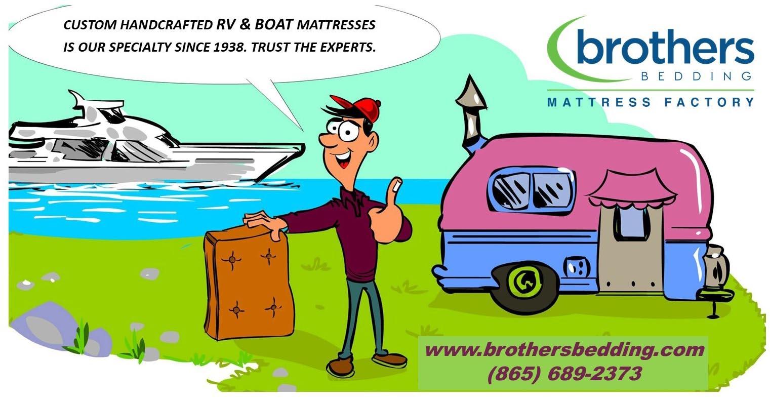 RV Boat Cartoon Art